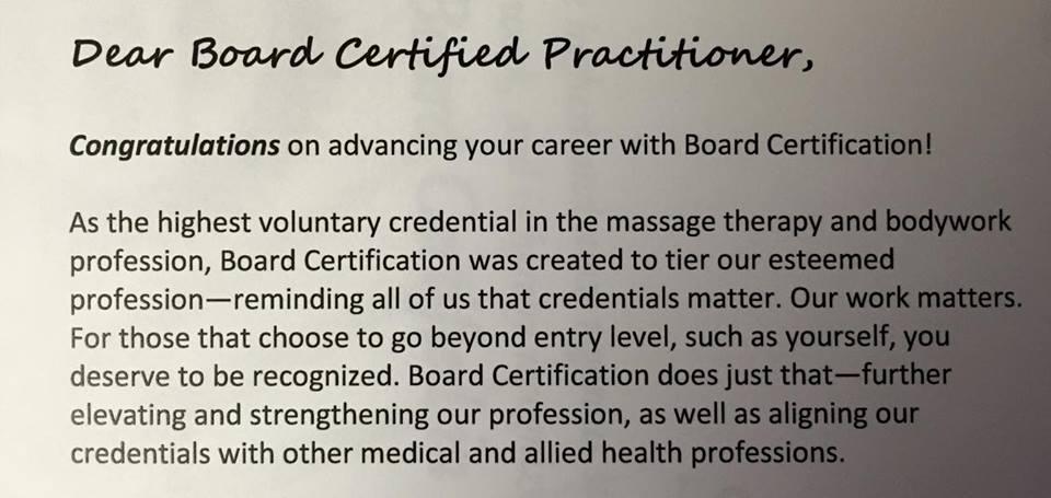 Licensed vs. Certified Massage Therapist